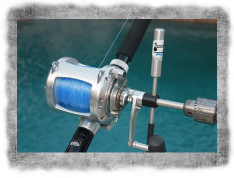 Spooled Up Tackle | Custom Auto Line Spooler | Speedy Crank